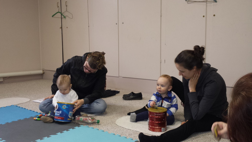 Drop bins help to develop fine motor skills