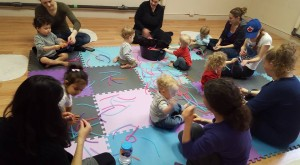 mom and tot sensory exploration in saskatoon