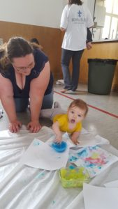 painting fun in Saskatoon